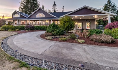Oakville Single Family Home For Sale: 184 Capitol Ridge Lane