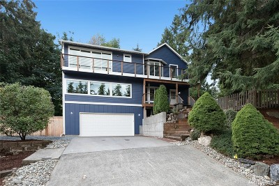 Snohomish County Single Family Home For Sale: 3504 221st Place SW