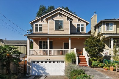 Seattle Single Family Home For Sale: 117 31st Ave E