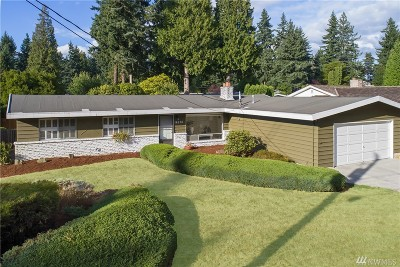 Bellevue Single Family Home For Sale: 14236 SE 24th St