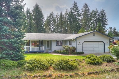 Shelton WA Single Family Home Sold: $205,000