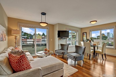 King County Condo/Townhouse For Sale: 319 Summit Ave E #501