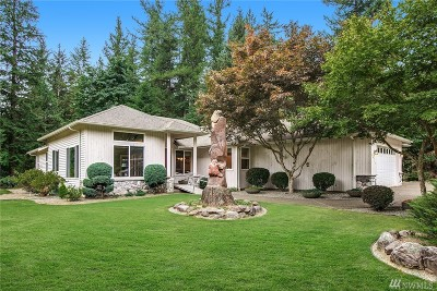 North Bend Single Family Home For Sale: 44217 SE Mt. Si Rd
