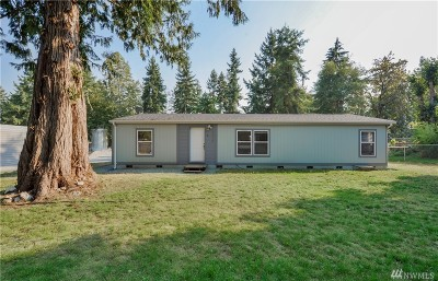Pierce County Single Family Home For Sale: 15618 283rd St E