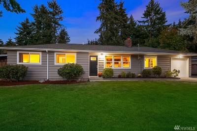 Bellevue Single Family Home For Sale: 3904 147th Ave SE