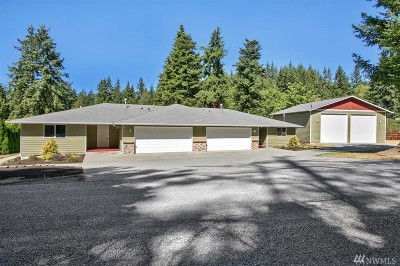 Stanwood Single Family Home For Sale: 9105 176th St NW