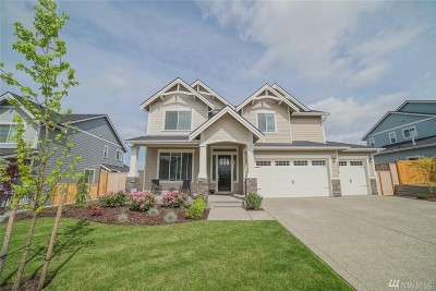 Puyallup Single Family Home Contingent: 18416 123rd Ave E