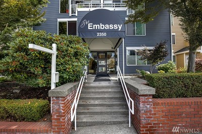 King County Condo/Townhouse For Sale: 2350 10th Ave E #214