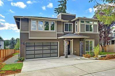 Kirkland Single Family Home For Sale: 13725 90th Ave NE