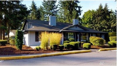 Federal Way Condo/Townhouse For Sale: 501 S 321st St #3B