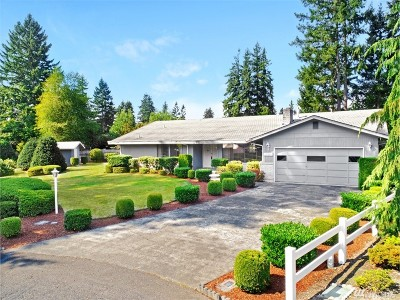 Puyallup Single Family Home For Sale: 11001 126th St Ct E