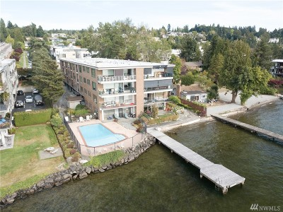 Kirkland Condo/Townhouse For Sale: 6225 Lake Washington Blvd NE #206