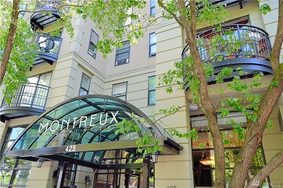 Seattle Condo/Townhouse For Sale: 425 Vine St #309