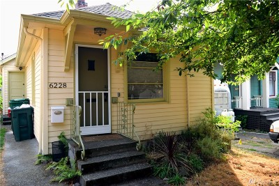 Single Family Home For Sale: 6228 7th Ave NW
