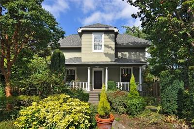 King County Single Family Home For Sale: 4007 Sunnyside Ave N