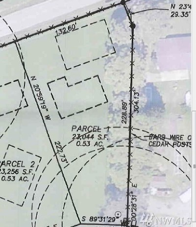 Monroe Residential Lots & Land For Sale: 28408 Fern Bluff Rd #Lot 1