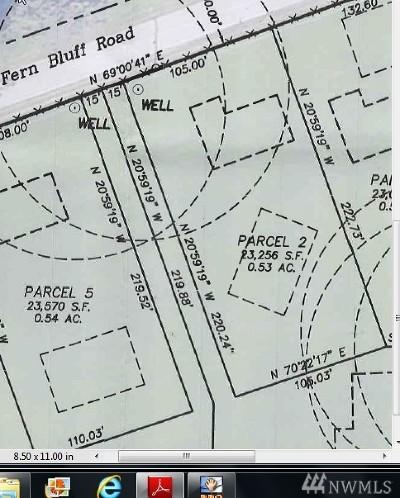 Monroe Residential Lots & Land For Sale: 28408 Fern Bluff Rd #Lot 2