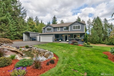 Gig Harbor Single Family Home For Sale: 15721 Fairview Lake Rd SW