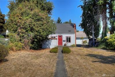 Tacoma WA Single Family Home For Sale: $140,000