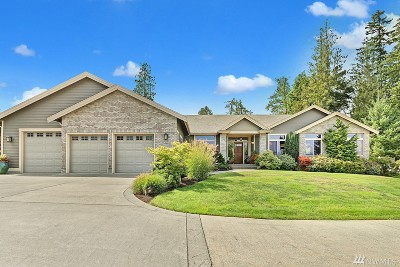 Snohomish Single Family Home For Sale: 8522 144th Dr SE