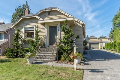 Lynden Single Family Home For Sale: 509 E Front St