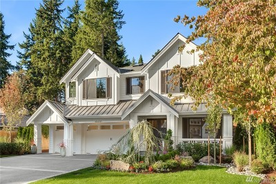 Bellevue Single Family Home For Sale: 10430 SE 20th St