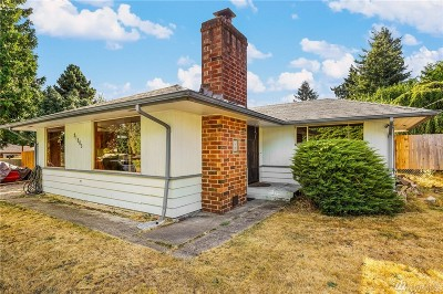 Seatac Single Family Home For Sale: 21805 Military Rd S