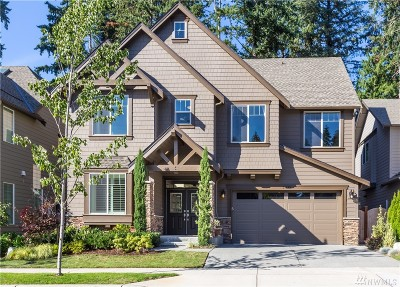 Sammamish Single Family Home For Sale: 21298 NE 9th Place