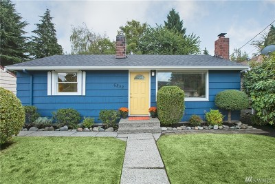 Seattle Single Family Home For Sale: 6832 25th Ave NE