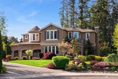 Sammamish Single Family Home For Sale: 21732 SE 4th Place