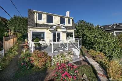 Single Family Home For Sale: 1351 Lake Washington Blvd S