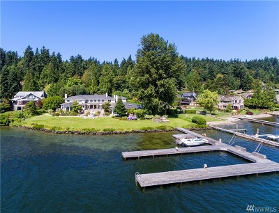 Mercer Island Single Family Home For Sale: 5330 Butterworth Rd