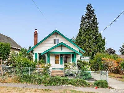 Seattle Single Family Home For Sale: 8424 S 120th St