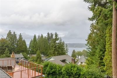 Bellevue WA Single Family Home For Sale: $1,088,000