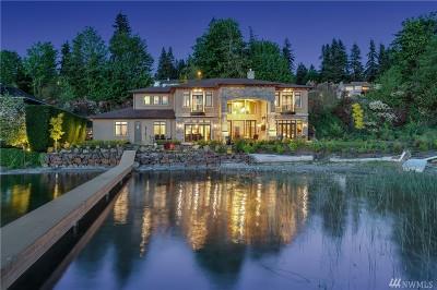 Sammamish WA Single Family Home For Sale: $5,498,000