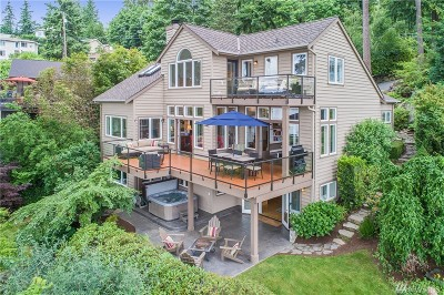 Sammamish Single Family Home For Sale: 2325 E Lake Sammamish Place SE