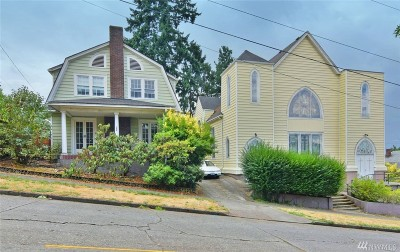 Seattle Single Family Home For Sale: 165 NW 65th St