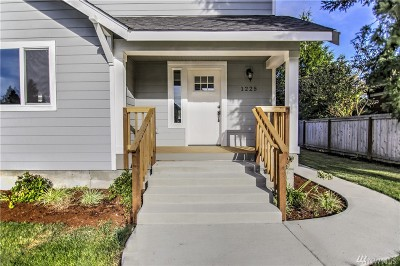 Tacoma Single Family Home For Sale: 1225 N Anderson St N