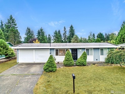 Steilacoom Single Family Home For Sale: 2318 Pamela Place
