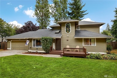Mountlake Terrace Single Family Home For Sale: 4820 226th St SW