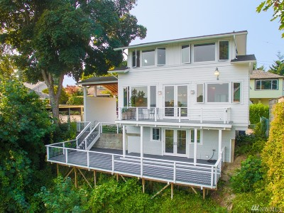 Seattle Single Family Home For Sale: 2135 Arch Place SW