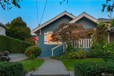 Seattle Single Family Home For Sale: 6750 Sycamore Ave NW