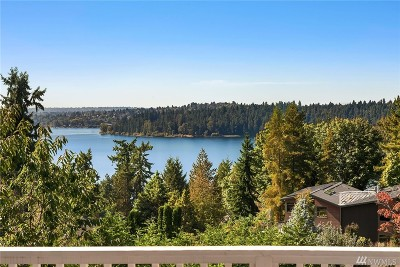 Mercer Island Single Family Home For Sale: 4803 W Mercer Wy