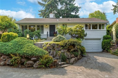 Seattle Single Family Home For Sale: 13731 2nd Ave NE