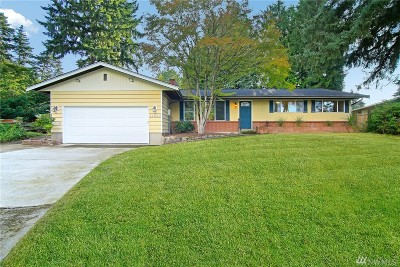 Bellevue Single Family Home For Sale: 11617 SE 46th St