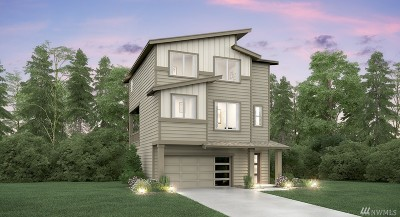 Seattle Single Family Home For Sale: 11833 82nd Place S #Lot 6