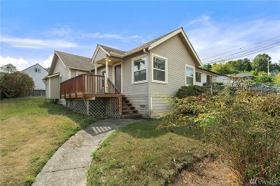 Seattle Single Family Home For Sale: 3511 S 130th St