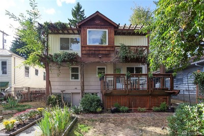 Seattle Single Family Home For Sale: 9732 15th Ave NE