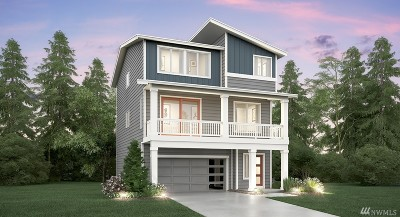Seattle Single Family Home For Sale: 8221 S 118th Ct #Lot 9