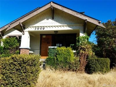 Pierce County Single Family Home For Sale: 3849 E I St